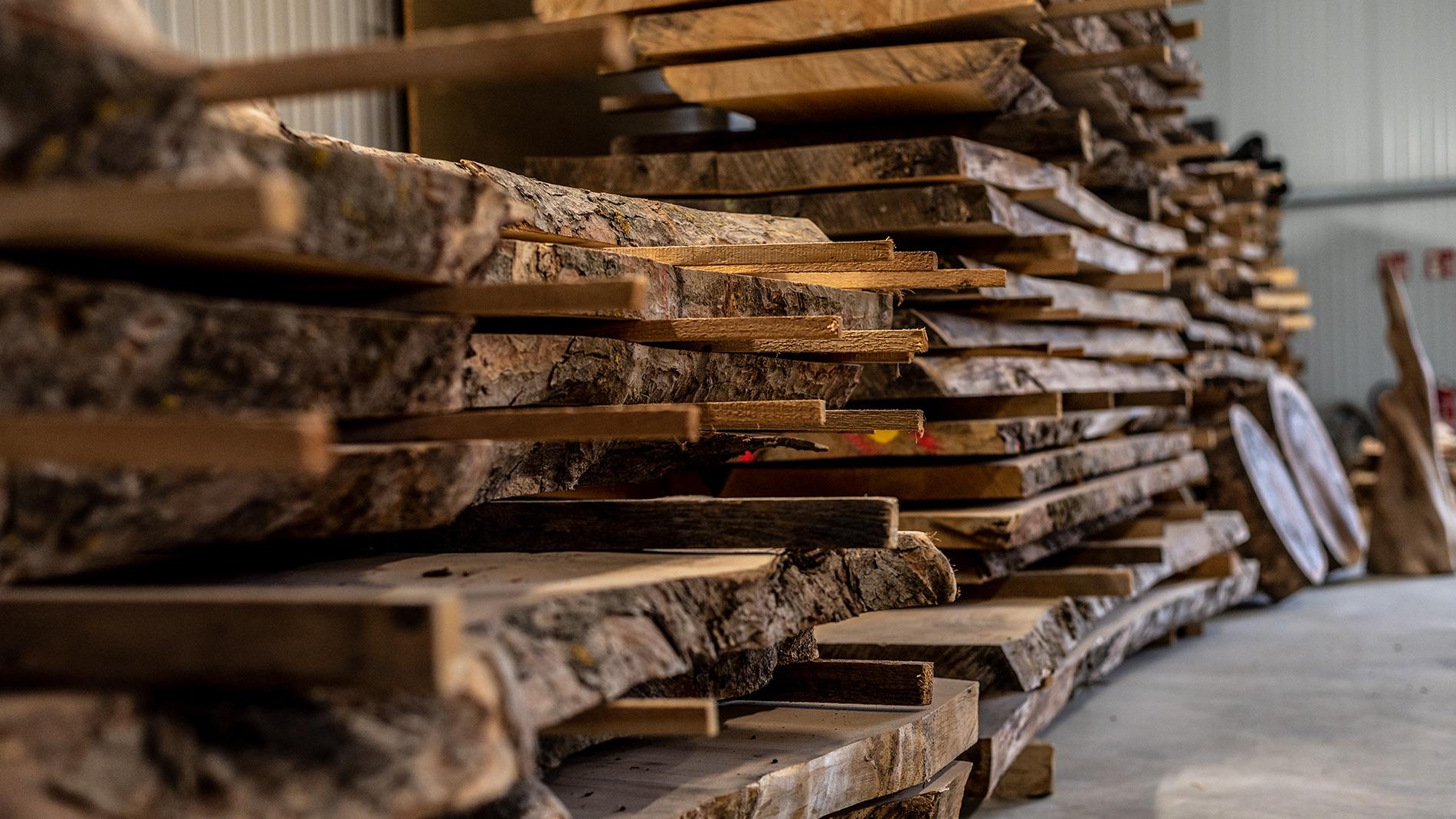Traumtisch - Holzlager